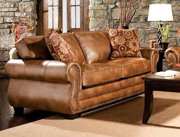 Leather Like Sofa Birmingham Sofa In Leather Like Fabric W Options