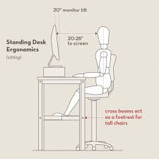 sit stand desk chair work at homers how to set up a stand up desk blogging and social