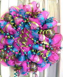 images of deco mesh wreath sc