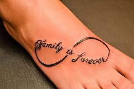 family word tattoo designs