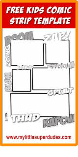 big start big end comic page paper free comic printables lots of
