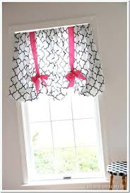 Curtains With Ribbon Ties Curtains With Ribbon Ties No Sew Decorating Ideas Curtains Ribbon