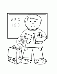 my first day at coloring page for kids back to
