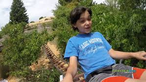 abraham u0027s backyard roller coaster first human trials youtube
