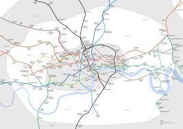 underground map zones travelcard zone 2