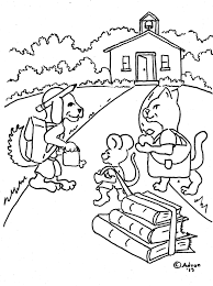 coloring pages for kids by mr adron animals go to print