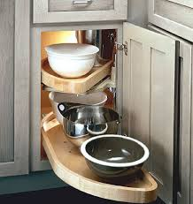 kitchen cabinet organizers solid wood lazy susan easily makes
