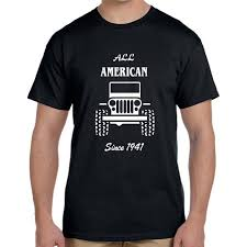 jeep shirt all american jeep t shirt