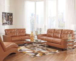 burnt orange leather living room furniture living room ideas
