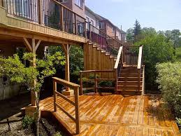 8 best cedar deck with pergola gate and horizontal fence images
