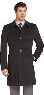 men s big tall top coats long coats leather jackets jos a