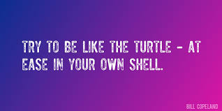 The Quot Be Like Bill - quote by bill copeland try to be like the turtle at ease in