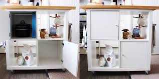 Kitchen Islands Ikea by Ikea Kallax Kitchen Island Hack Jen Lou Meredith