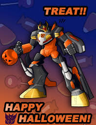 happy halloween artwork 2d artwork holiday transformers tfw2005 the 2005 boards