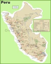 Map Of Peru South America by Peru Maps Maps Of Peru