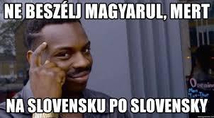 Ne Memes - ne beszélj magyarul mert na slovensku po slovensky roll safeeeeee