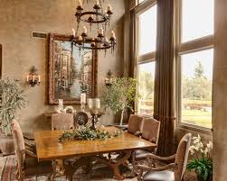 Tuscan Style Dining Room Furniture by Tuscan Style Decorating Design Architecture Family Room