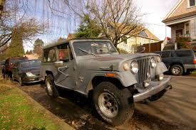 1973 jeep commando old parked cars 1970 jeep jeepster commando