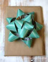 paper gift bows easy gift wrapping ideas with kraft paper