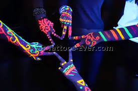 glow paint glow in the paint 8 best tattoos