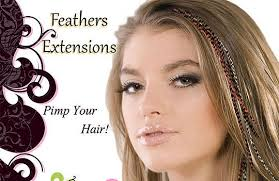 feather extensions hair extensions 90048 los angeles hair extensions salon stylist irina