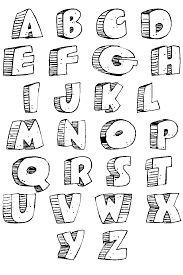 alphabet coloring pages for kids to print u0026 color