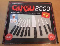 Ginsu Kitchen Knives The Original Ginsu 2000 Knives As Seen On Tv Deluxe 10 Pc Set In