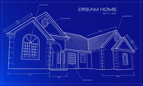 drawing home blueprints home pattern