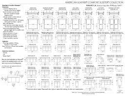 classy 25 sofa sizes decorating design of measurements of