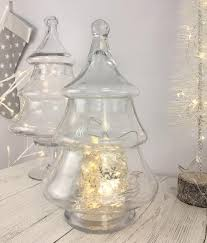 glass tree storage jar perfectly lovely interiors