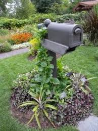 23 best landscaping around mailboxes images on mailbox