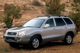 hyundai santa fe 2004 review 2001 06 hyundai santa fe consumer guide auto