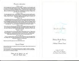 wedding reception program sle 100 wording for wedding program wedding dress code 101