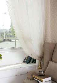 high grade gordijnen voor de woonkamer gold stripes window