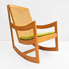 Mid Century Modern Rocking Chair Mid Century Modern Scandinavian Rocking Chairs Antiques Ebay