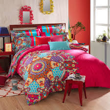 bohemian bedding sets bohemian bedding set thicken cotton brushed