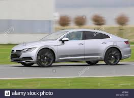 volkswagen arteon 2017 emden germany 12th apr 2017 a new vw arteon can be seen on a