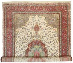 Rugs In Dallas Persian Tabriz Silk Wool 13x20 Rug 10625