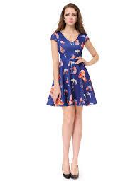 alisa pan short sleeve floral printed casual dress
