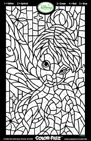 disney fairies tinkerbell mosaic coloring page samantha