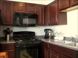 kitchen backsplash for dark cabinets and light countertops