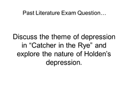 catcher in the rye theme of alienation the catcher in the rye resource pack by johncallaghan teaching