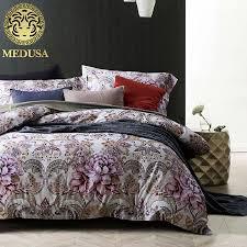 aliexpress com buy medusa 60s egyptian cotton sateen lavender