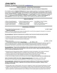 sample resume general objective technician resume sample resume