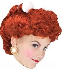 Love Lucy Halloween Costume Love Lucy Kids Wig Girls Halloween Costumes