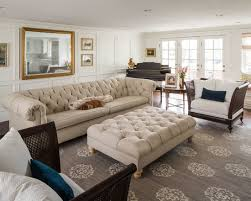Beige Tufted Sofa by Interior Designs With Tufted Furniture