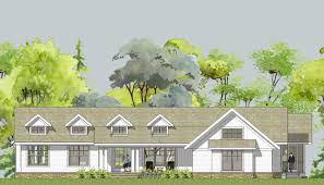 Cottage Style House Plans With Porches Farmhouse Home Plans Porch Single Story Farmhouse House Plans