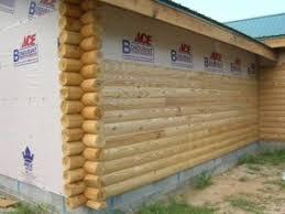11 best faux log siding images on log home deck
