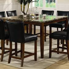 Maple Table And Chairs Furniture Counter Height Pub Table For Enjoy Your Meals And Work