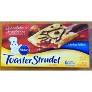 Glutino Toaster Pastry Pillsbury Toaster Strudel Chocolate U0026 Strawberry Calories